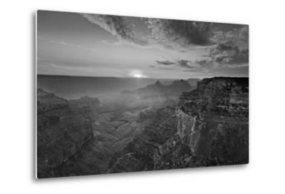 Cape Royal Viewpoint at Sunset, North Rim, Grand Canyon Nat'l Park, UNESCO Site, Arizona, USA-Neale Clark-Metal Print