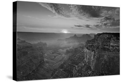 Cape Royal Viewpoint at Sunset, North Rim, Grand Canyon Nat'l Park, UNESCO Site, Arizona, USA-Neale Clark-Stretched Canvas Print