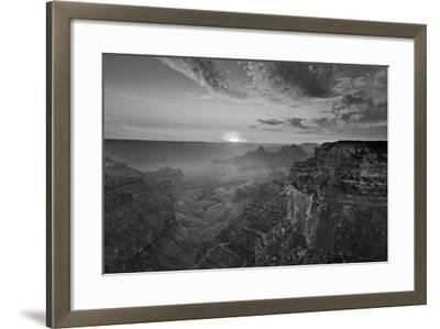 Cape Royal Viewpoint at Sunset, North Rim, Grand Canyon Nat'l Park, UNESCO Site, Arizona, USA-Neale Clark-Framed Photographic Print