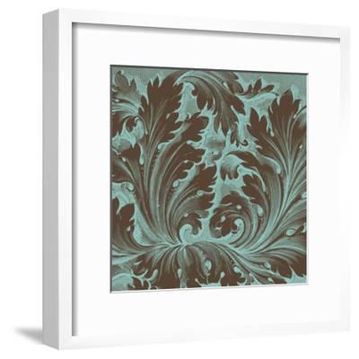Azure Acanthus IV-Vision Studio-Framed Art Print