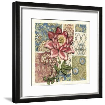 Rose Chintz II-Chariklia Zarris-Framed Art Print