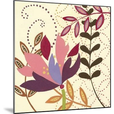 Berry Blossom II-Vision Studio-Mounted Art Print