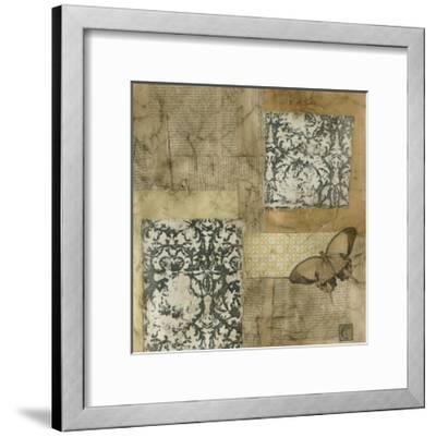 Vintage Assemblage II-J^ Holland-Framed Art Print