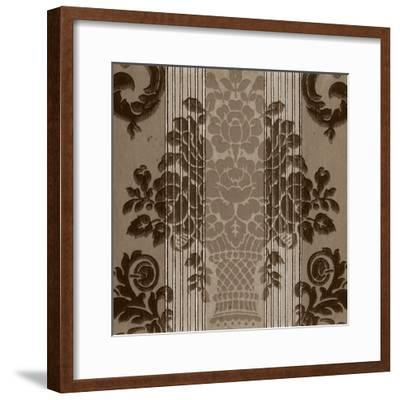 Vintage Wallpaper I-Vision Studio-Framed Art Print