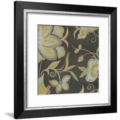 Heirloom Floral II-Erica J^ Vess-Framed Art Print