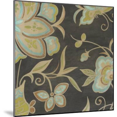 Heirloom Floral II-Erica J^ Vess-Mounted Art Print