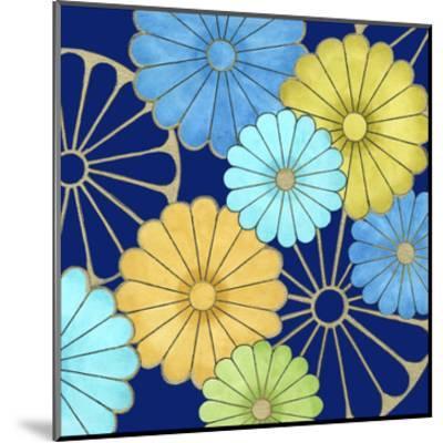 Floral Confetti IV-Erica J^ Vess-Mounted Art Print