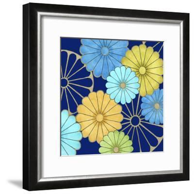 Floral Confetti IV-Erica J^ Vess-Framed Art Print