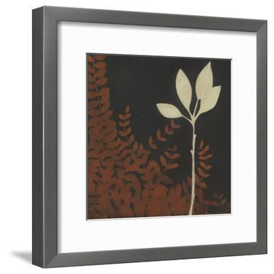 Garden Cameo I-Erica J^ Vess-Framed Art Print