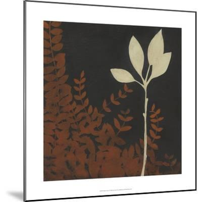 Garden Cameo I-Erica J^ Vess-Mounted Art Print