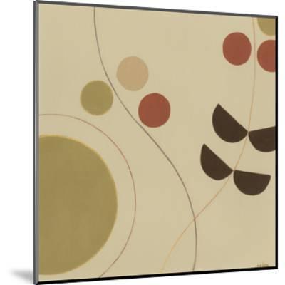 Autumn Orbit III-Erica J^ Vess-Mounted Art Print