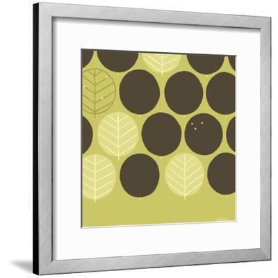 Forest Motif III-Erica J^ Vess-Framed Art Print