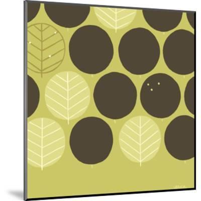 Forest Motif III-Erica J^ Vess-Mounted Art Print