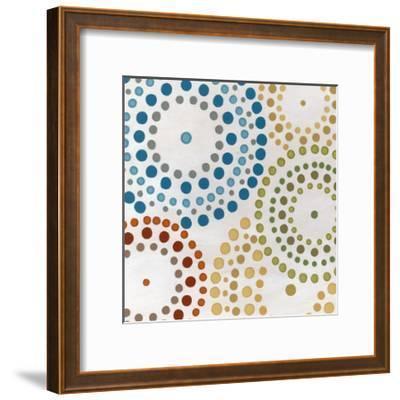 Mosaic Mandalas II-Erica J^ Vess-Framed Art Print