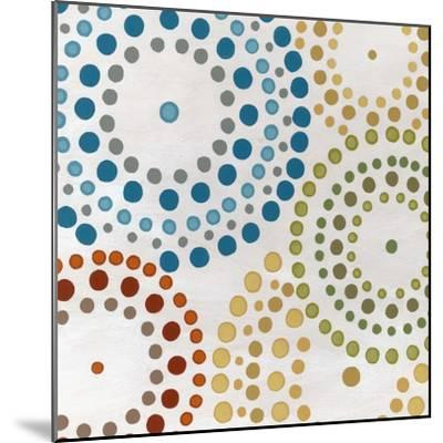 Mosaic Mandalas II-Erica J^ Vess-Mounted Art Print