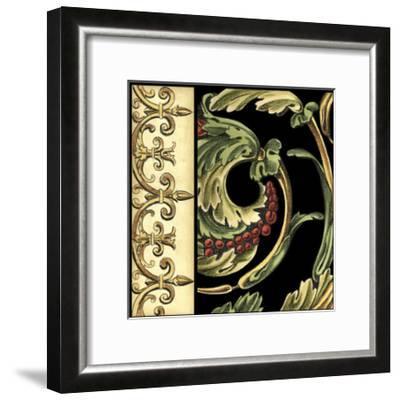 Frieze Detail IV-Ethan Harper-Framed Art Print