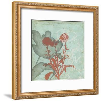 Trois Fleur I-Megan Meagher-Framed Art Print