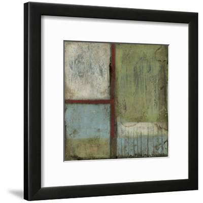 Rustic Minimalism II-Jennifer Goldberger-Framed Art Print