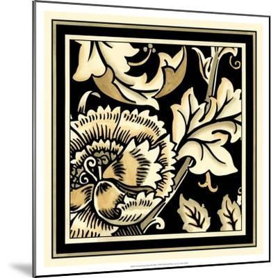 Neutral Floral Motif III-Vision Studio-Mounted Art Print