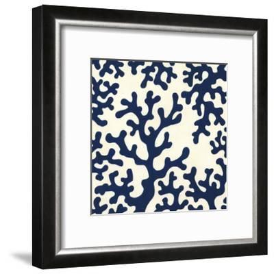 Ocean Motifs I-Erica J^ Vess-Framed Art Print