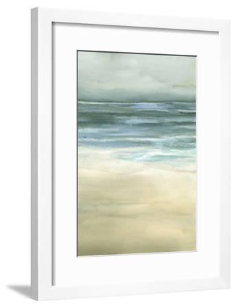 Tranquil Sea II-Jennifer Goldberger-Framed Art Print