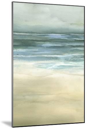Tranquil Sea II-Jennifer Goldberger-Mounted Art Print