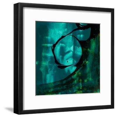 Turquoise Element III-Sisa Jasper-Framed Art Print