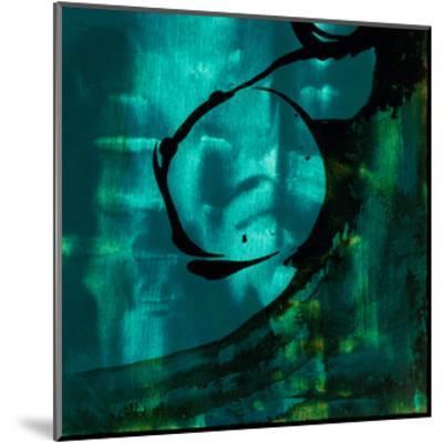 Turquoise Element III-Sisa Jasper-Mounted Art Print