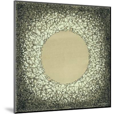 Lunar Eclipse I-Vanna Lam-Mounted Art Print