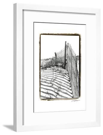 Beach Scape IV-Laura Denardo-Framed Art Print