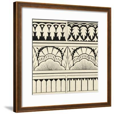 Ornamental Tile Motif VII-Vision Studio-Framed Art Print