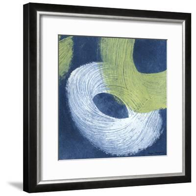 Blue Revolution IV-Megan Meagher-Framed Art Print