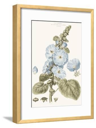 Bashful Blue Florals IV-John Miller-Framed Art Print