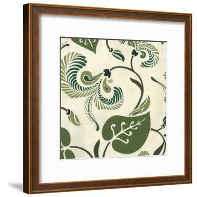 Verdant Fresco II-Erica J^ Vess-Framed Art Print
