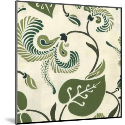 Verdant Fresco II-Erica J^ Vess-Mounted Art Print