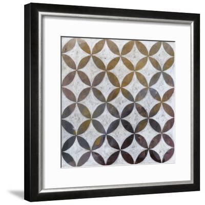 Royal Pattern II-Megan Meagher-Framed Art Print