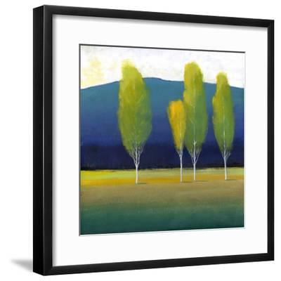 Glowing Trees I-Tim O'toole-Framed Art Print