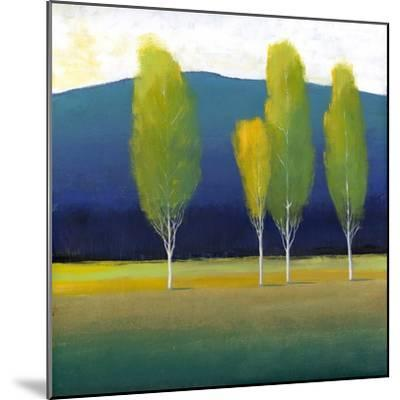 Glowing Trees I-Tim O'toole-Mounted Art Print