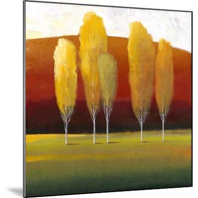 Glowing Trees II-Tim O'toole-Mounted Art Print