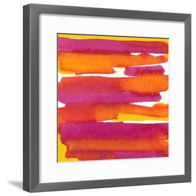 Sunset on Water I-Renee W^ Stramel-Framed Art Print