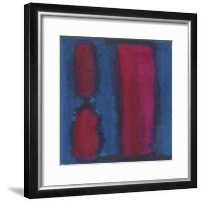 Indigo Meditation II-Renee W^ Stramel-Framed Art Print