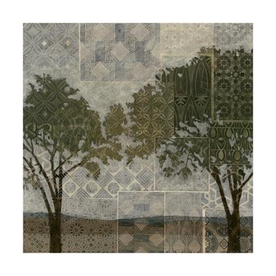 Patterned Arbor I-Megan Meagher-Framed Art Print