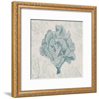 Coral Motif IV-Vision Studio-Framed Art Print