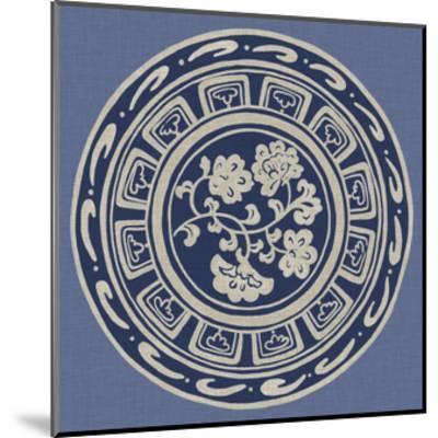Indigo Earthenware III-Chariklia Zarris-Mounted Art Print