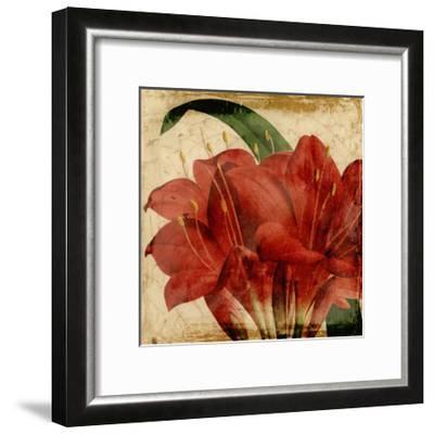 Vibrant Floral VIII-Vision Studio-Framed Art Print