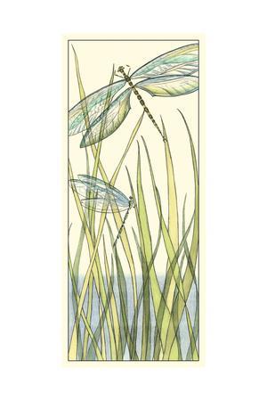 Gossamer Dragonflies I-Chariklia Zarris-Framed Art Print