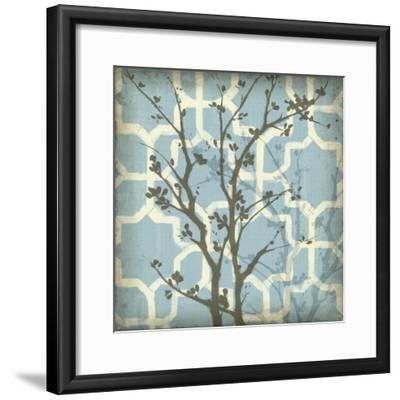 Silhouette and Pattern I-Jennifer Goldberger-Framed Art Print