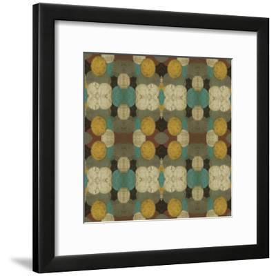 Circular Repeat II-Jennifer Goldberger-Framed Art Print