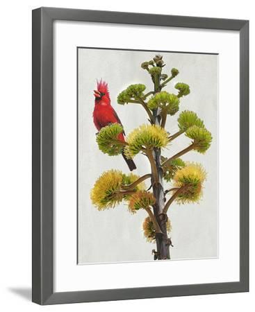 Avian Tropics I-Chris Vest-Framed Art Print