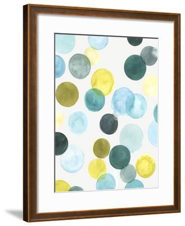 Aquatic Orbit I-June Erica Vess-Framed Art Print